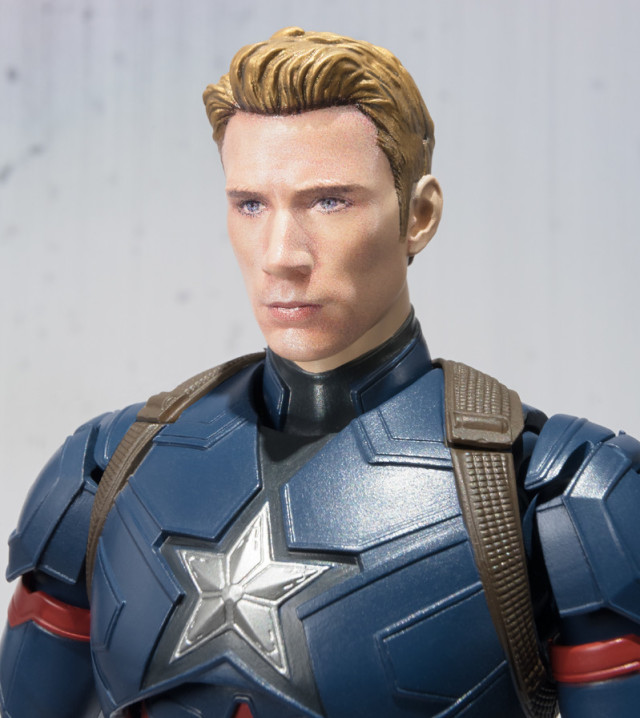 Figuarts Civil War Captain America Steve Rogers Head Unmasked