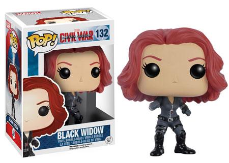Funko Black Widow Civil War POP Vinyls Figure