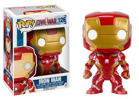 Funko Civil War Iron Man POP Vinyls Figure