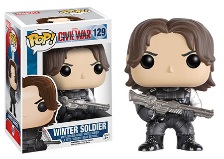 Funko Civil War Winter Soldier POP Vinyl Figure