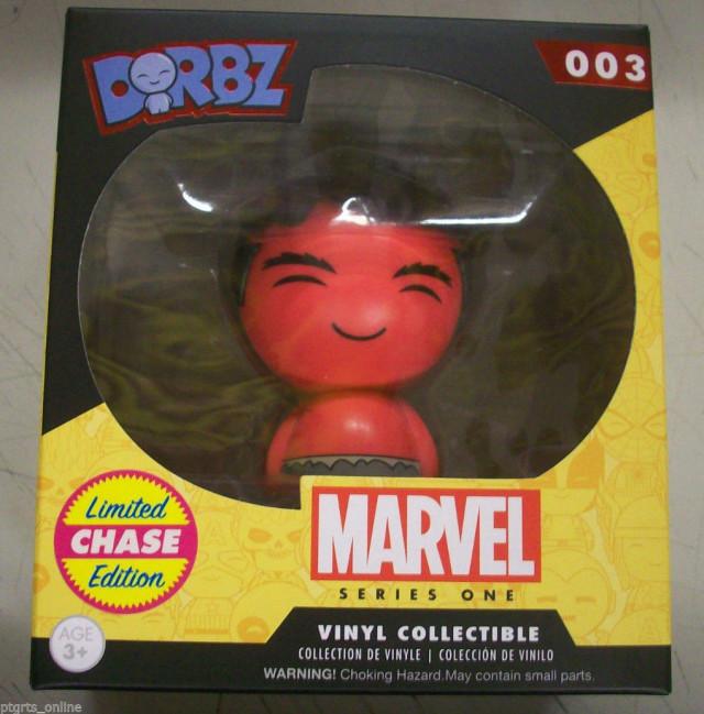 Funko Red Hulk Dorbz Chase Figure