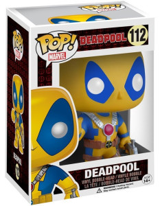 Funko Yellow Deadpool Amazon Exclusive POP Vinyl