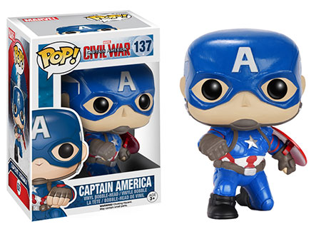 Gamestop Exclusive Funko Action Pose Captain America POP Vinyl