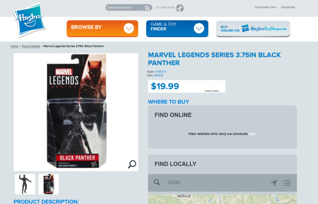 Hasbro Marvel Legends 4 Inch 2016 Price Increase