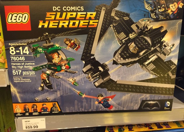 LEGO Heroes of Justice Sky High Battle Set