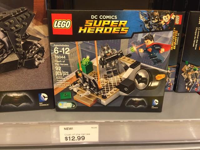 LEGO Batman vs Superman Clash of Heroes Set