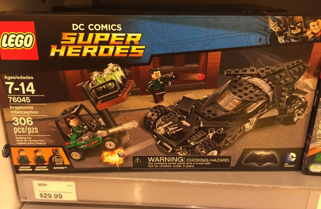 LEGO Batman v. Superman Batmobile Set