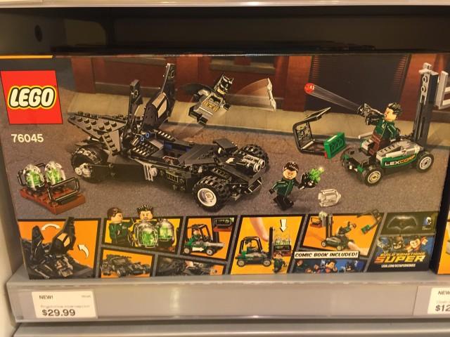 2016 LEGO Kryptonite Interception Box Back Batman vs. Superman Dawn of Justice