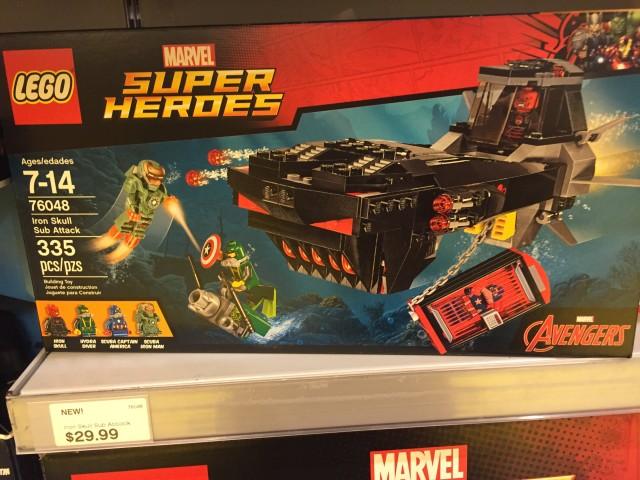 Iron Skull Sub Attack Set LEGO Marvel Winter 2016