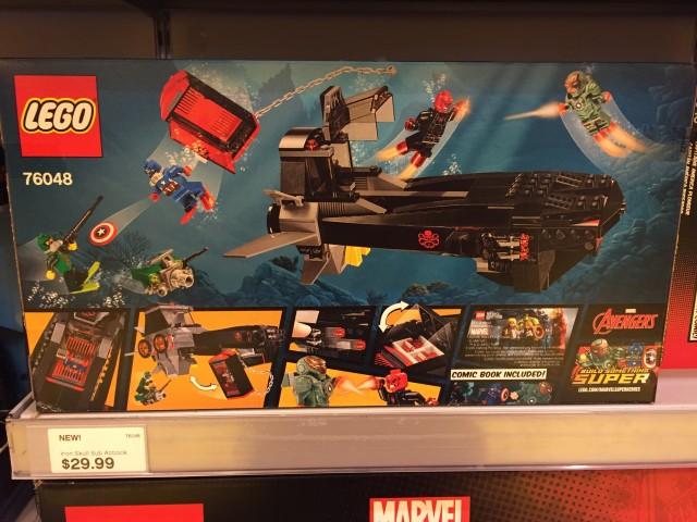 LEGO Iron Skull Attack Sub Box Back
