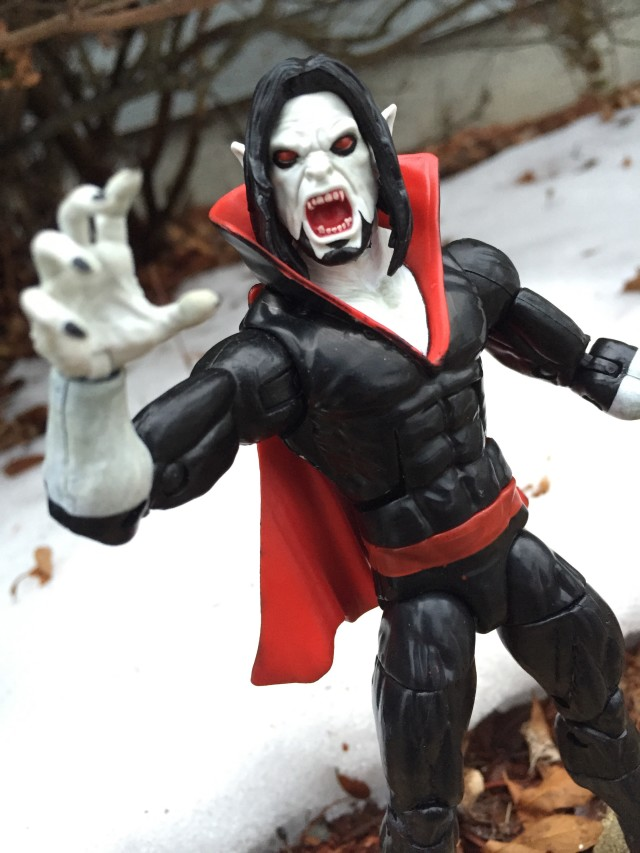 Marvel Legends Morbius Review Photos