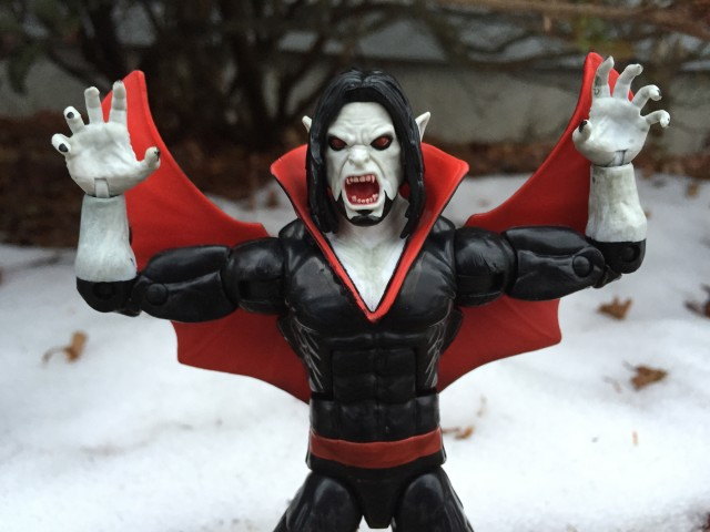 Morbius The Living Vampire Figure in Ooga Booga Pose