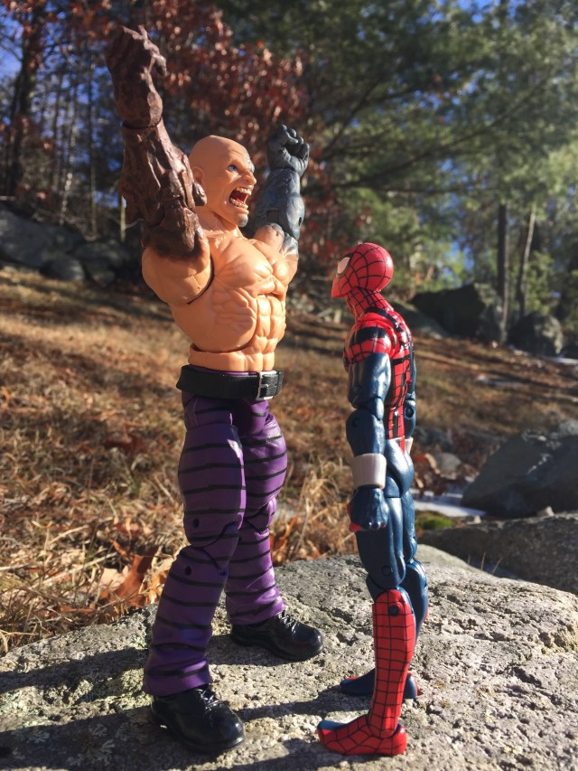Size Scale Comparison Spider-Man Marvel Legends Absorbing Man Figure
