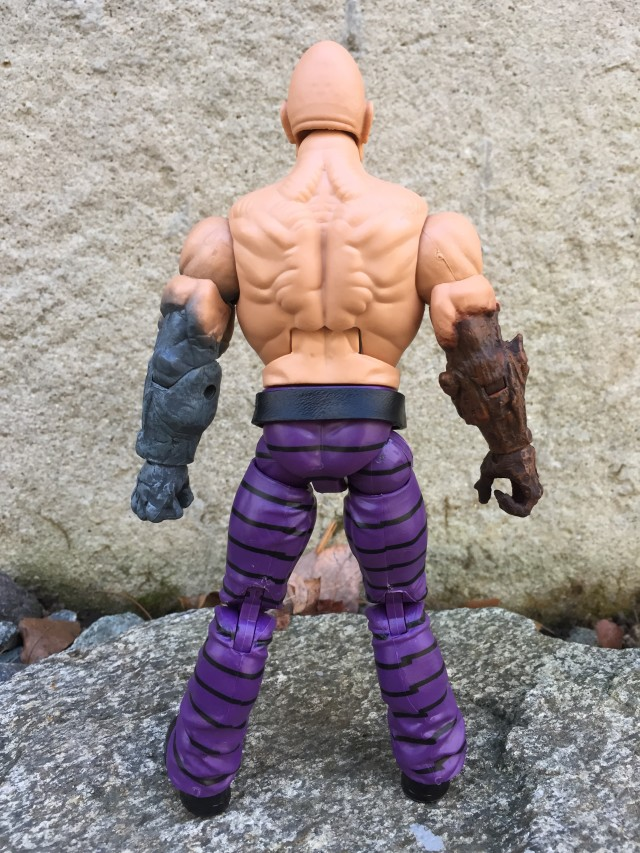 Back of Absorbing Man Marvel Legends Build-A-Figure