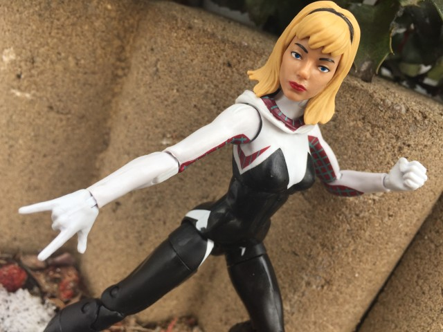 Unmasked Gwen Stacy Head Marvel Legends 2016