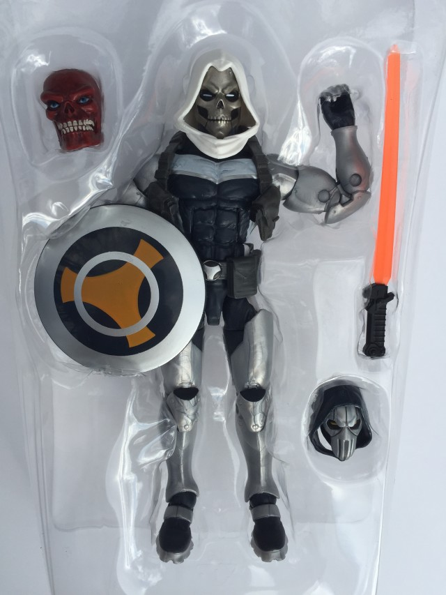 "Hasbro Marvel Legends 6"" Taskmaster Figure and Accessories"