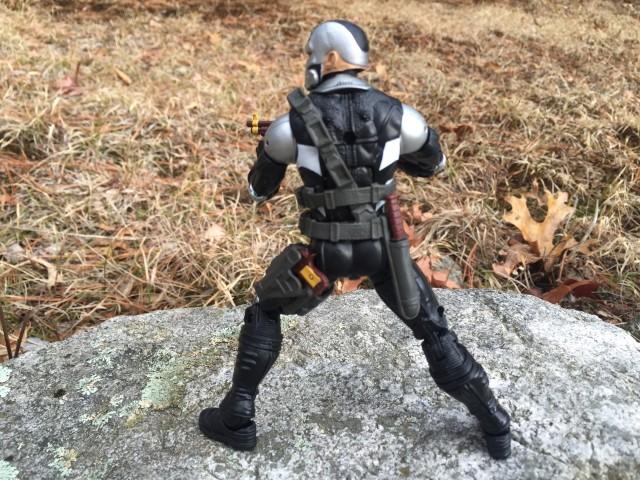 Back of Marvel Legends 2016 Scourge Figure