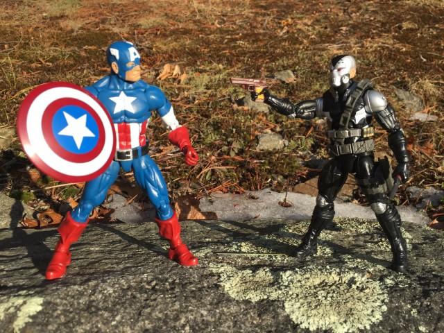 Marvel Legends Captain America vs. Scourge