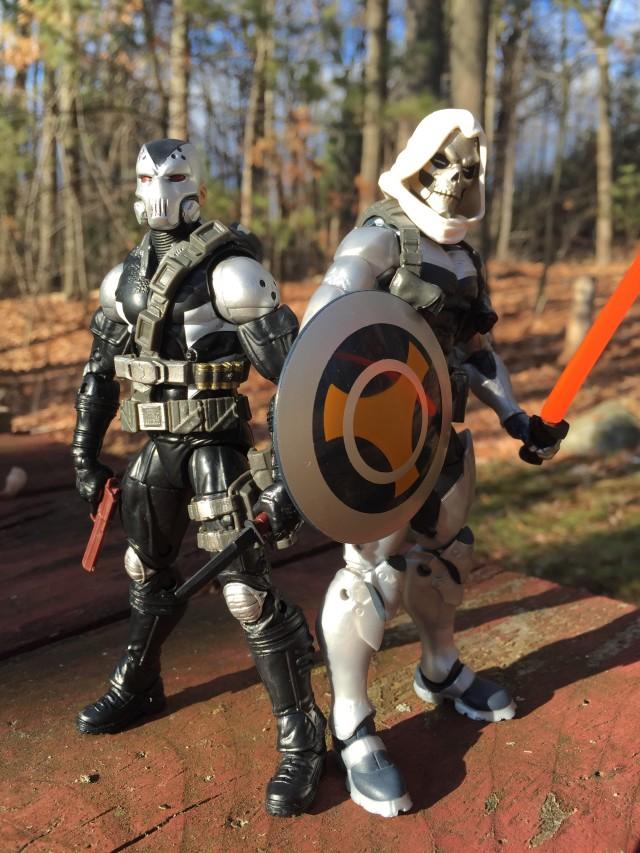 Scourge and Taskmaster Marvel Legends Red Skull Series Figures