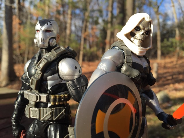 Marvel Legends Civil War Mercenaries of Mayhem Figures Close-Up