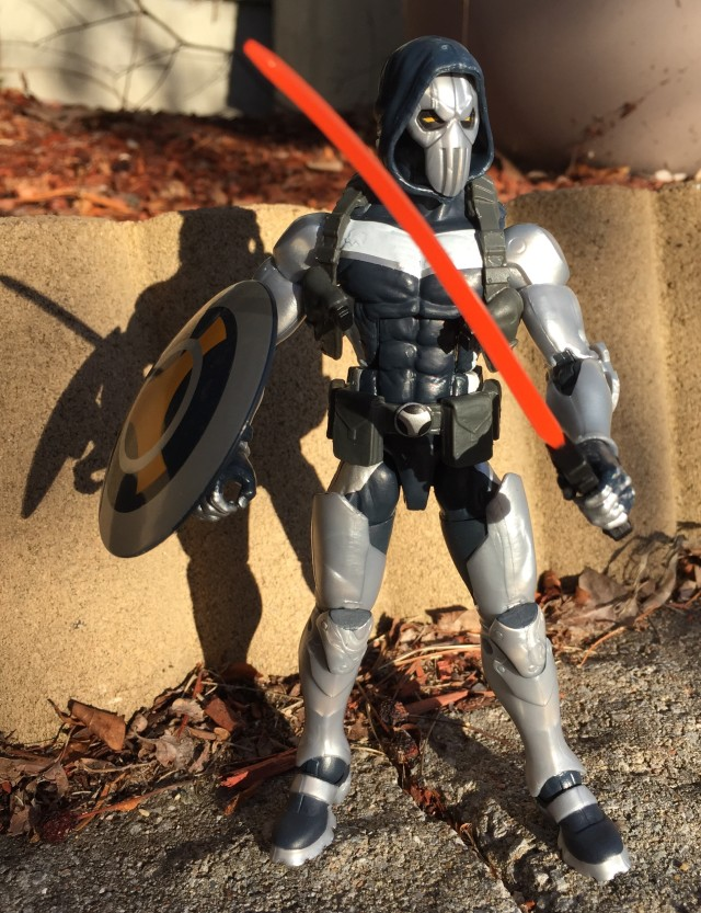 "Marvel Legends Udon Taskmaster 6"" Figure with Sword and Shield"