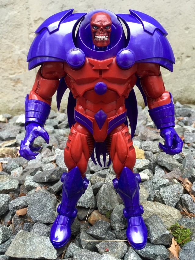Captain America Marvel Legends Red Skull Onslaught Build-A-Figure