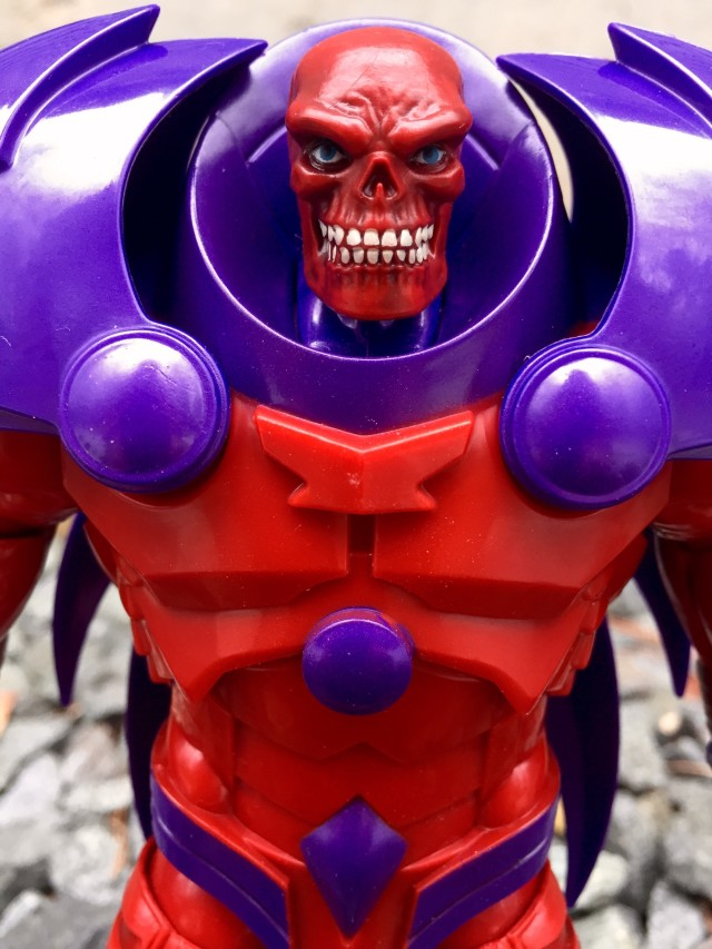 Hasbro Red Skull Onslaught Build-A-Figure Head Close-Up