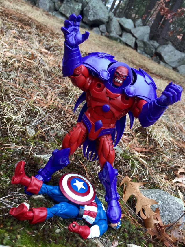 Marvel Legends Civil War Red Onslaught Figure Kills Captain America