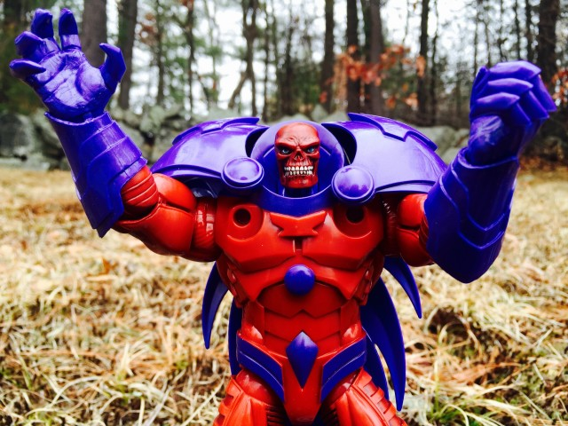Red Onslaught Hasbro Marvel Legends Figure Restricted Articulation