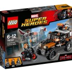 LEGO Civil War Crossbones' Hazard Heist 76050 Set Preview!