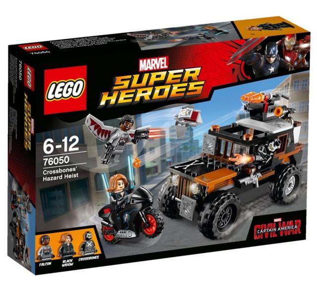 LEGO Civil War Crossbones' Hazard Heist 76050 Set Box