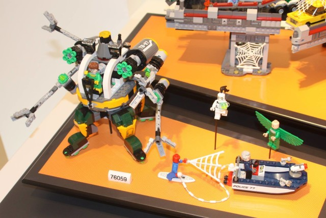 LEGO Doc Ock's Tentacle Trap 76059 German Toy Fair 2016