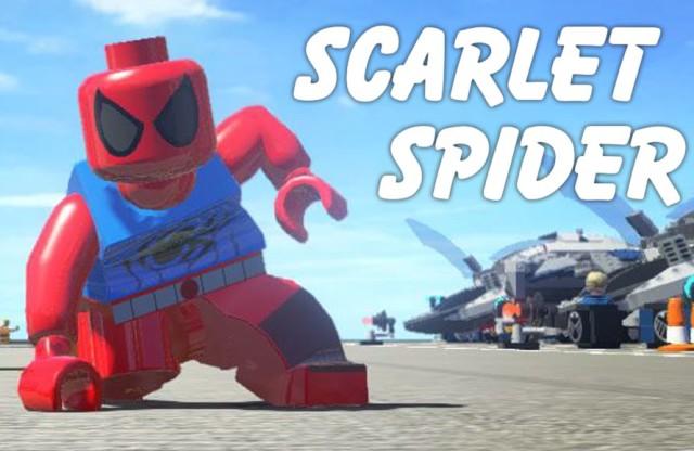 LEGO Scarlet Spider Screenshot