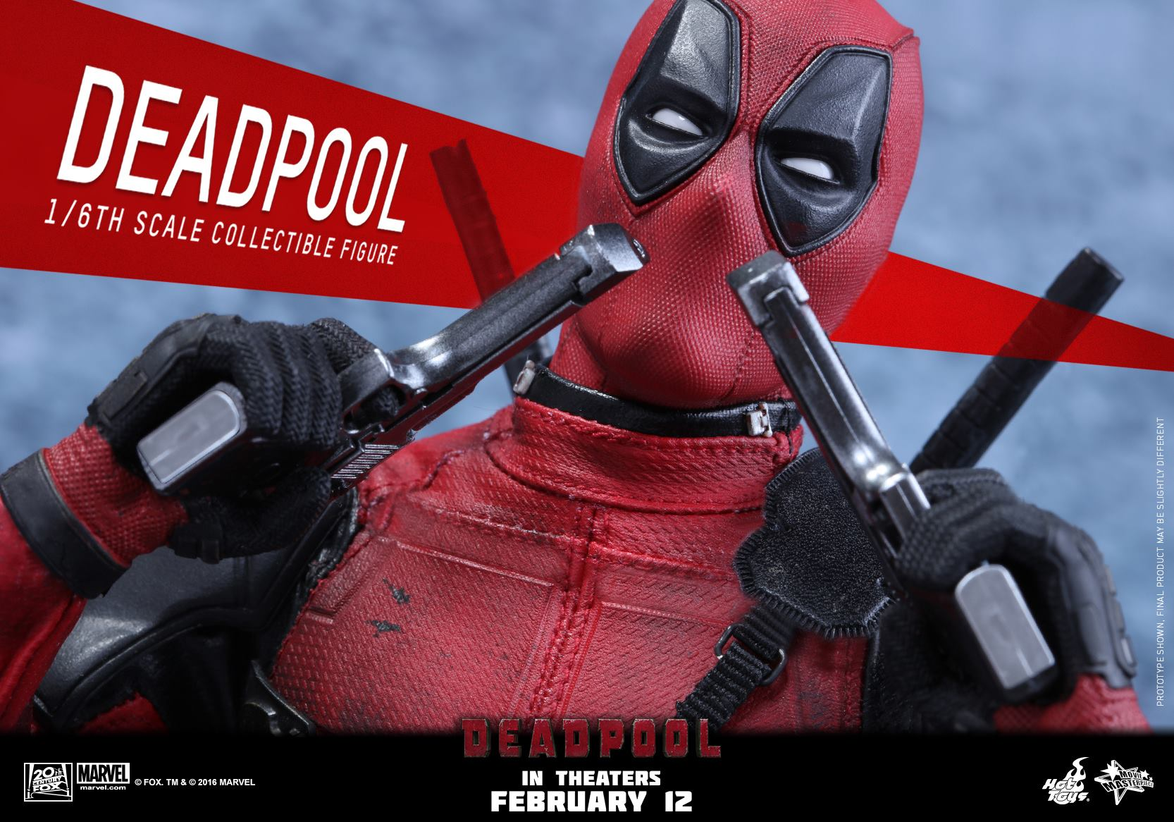 Hot toys deadpool sixth scale figure up for order for Deadpool show