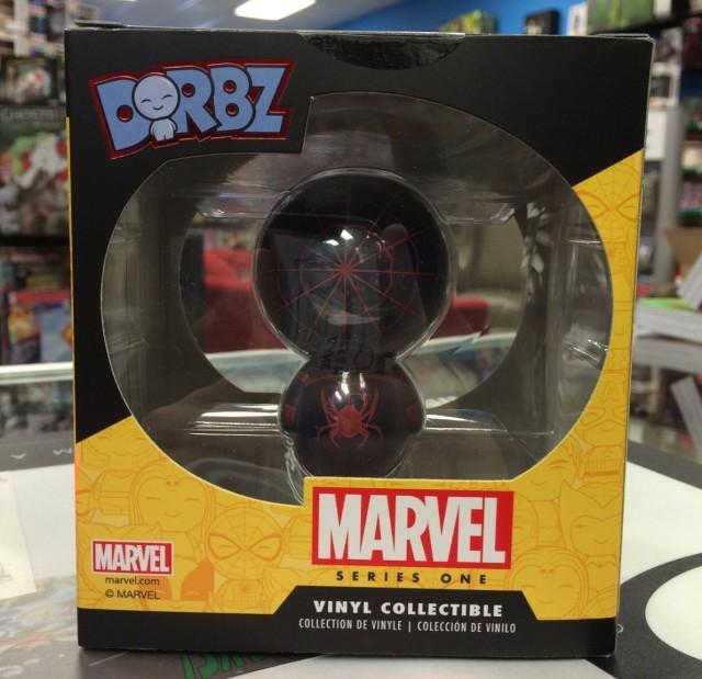 Marvel Dorbz Chase Miles Morales Ultimate Spider-Man Figure Back
