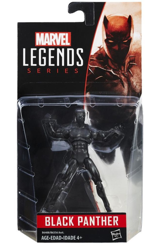 Marvel Legends 2016 Black Panther Figure Packaged