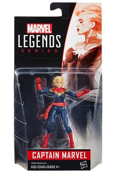 Marvel Legends Captain Marvel 4 Inch Figure