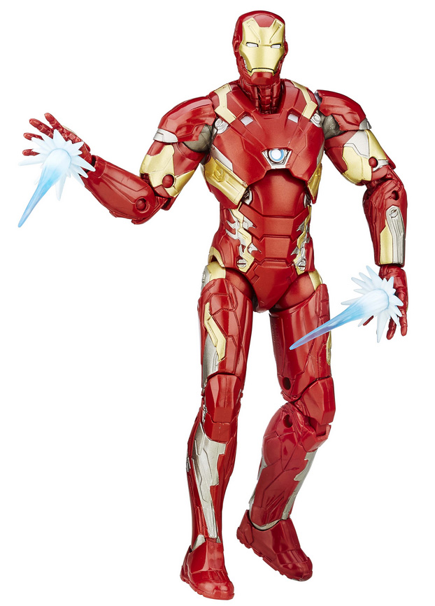Marvel Legends Civil War Iron Man 6 Inch Figure