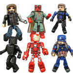 Captain America Civil War Minimates Figures Revealed!