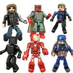 Captain America Civil War Minimates Figures Revealed!