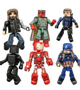 Marvel Minimates Civil War Series 1 Figures Revealed