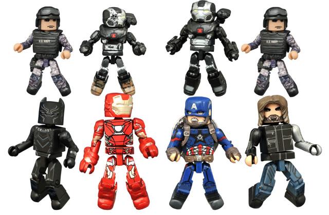 Minimates Captain America Civil War Series Figures Comic Shop