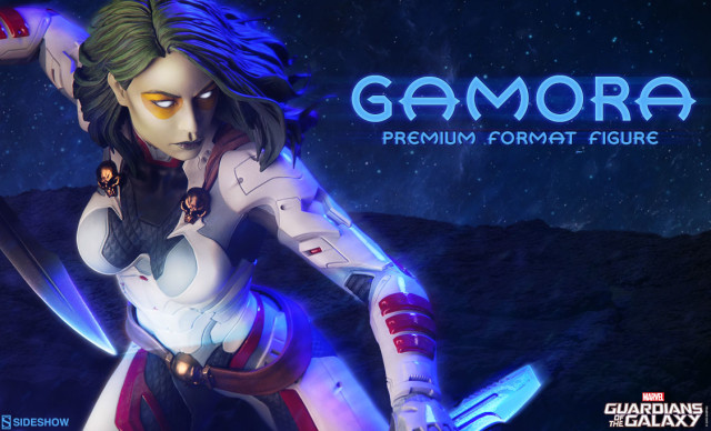 Premium Format Gamora Statue Quarter-Scale Sideshow Collectibles Preview
