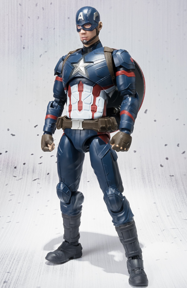 SH Figuarts Captain America Civil War Captain America Figure