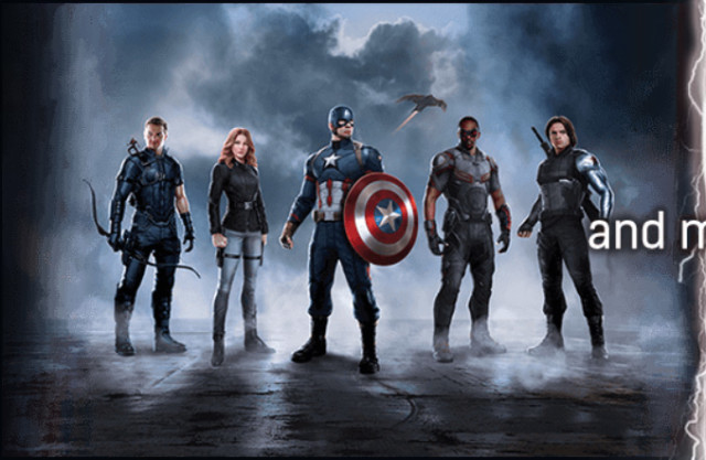 SH Figuarts Captain America Civil War Figures Cap's Side