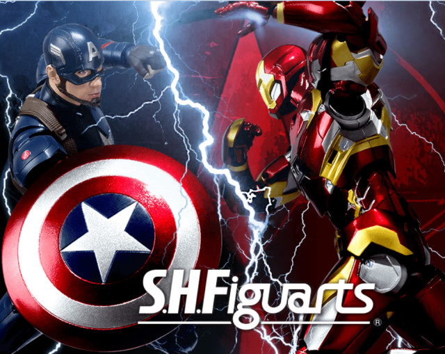 SH Figuarts Captain America Civil War Iron Man Mark 46