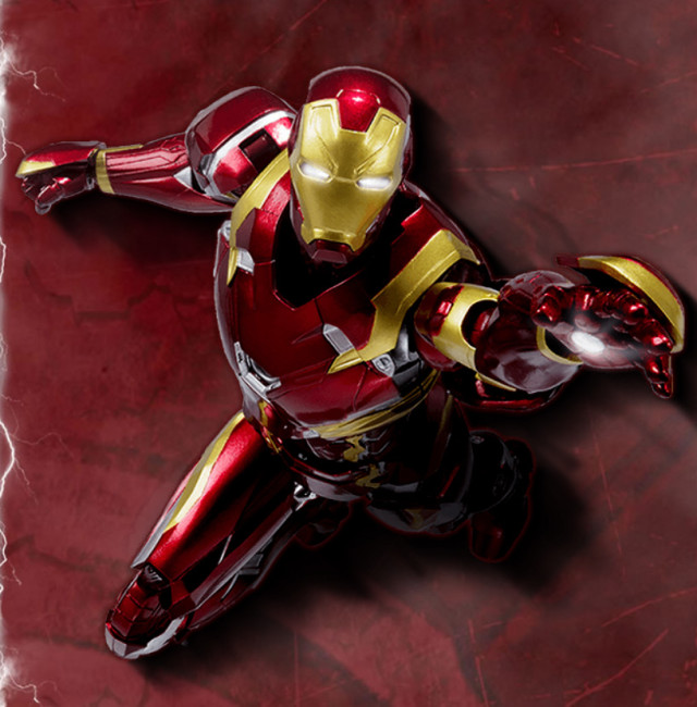 SH Figuarts Civil War Iron Man Figure