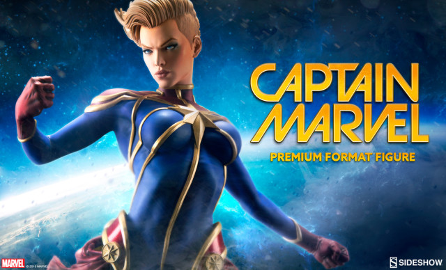 Sideshow Captain Marvel Premium Format Figure Sneak Peek