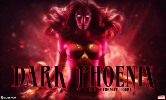 Sideshow Dark Phoenix Premium Format Figure Statue Preview
