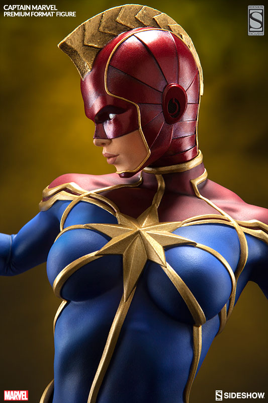 Sideshow Exclusive Captain Marvel Kree Helmet